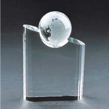 New Products! new low price cheap crystal singing trophy