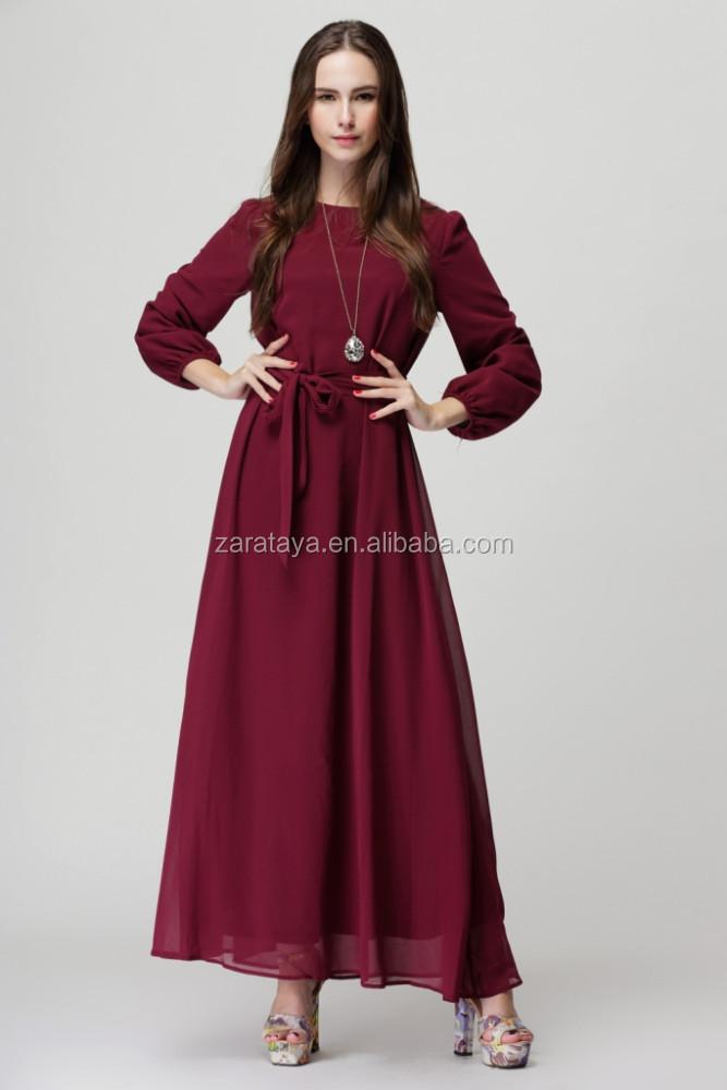 Prt--porter pour Femme Musulmane : Collection de Robes
