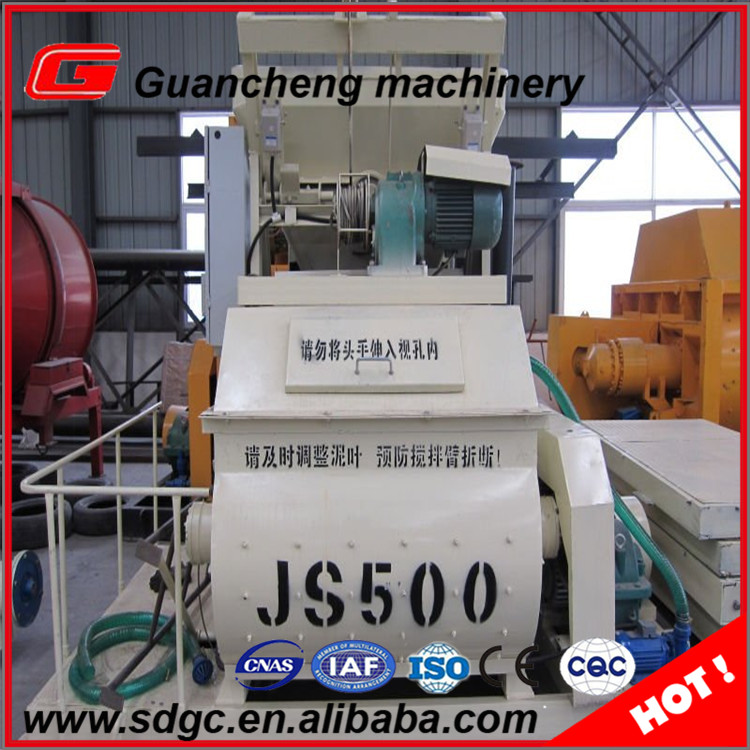 JS500 concrete mixer machine concrete mixer spare parts with good price