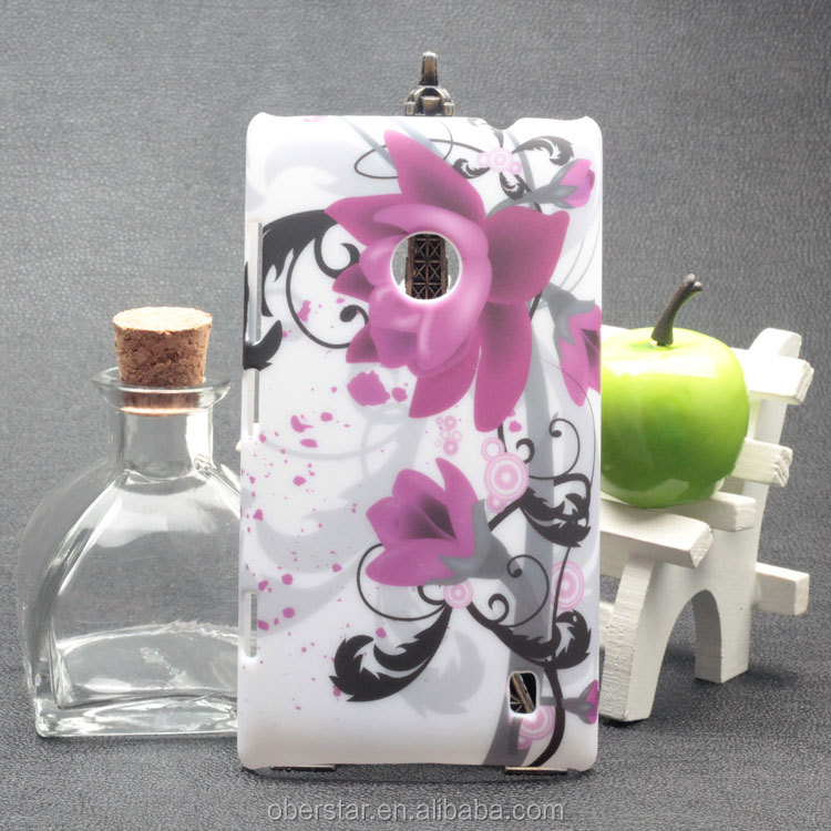 3D Sublimation Cell Phone Case Hard Cover For Nokia Lumia 520 / N520