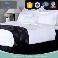 2016 polycotton white hotel bedding set cotton sheets luxury bed