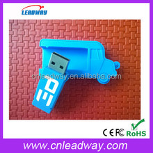 OEM PVC Mini Truck Shape USB Flash Drives thumb pen drives memory stick disk gift 2GB 4GB 8GB 16GB 32GB