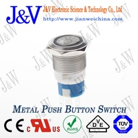 economic and practical LED metal push button pushbutton switch latching