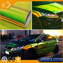 Colors Holographic Rainbow Neo Chrome Car Vinyl Wrap Bubble Free Sticker Film