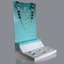 high quality acrylic jewelery counter display stand