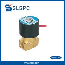 Two position two way coiled solenoid coil valve 110V GBS-SLG22-08