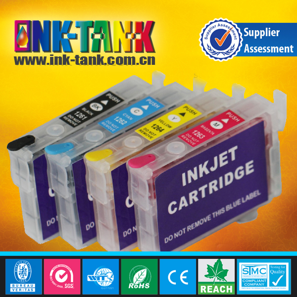 Compatible epson inkjet printer refillable ink cartridge for epson t10/ t11/ t13