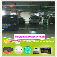 auto park management system with parking space indicator for car parking project