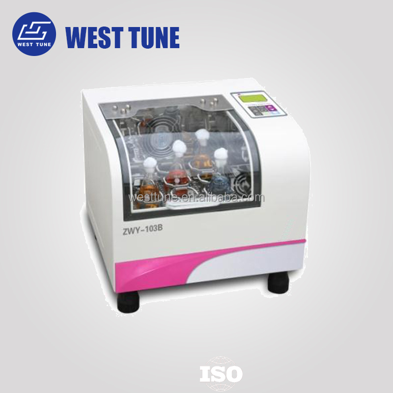 ZWY-103B economic benchtop automatic computer control orbital shaker incubator price