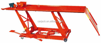1000LBS hydraulic motorcycle lift table with CE approval