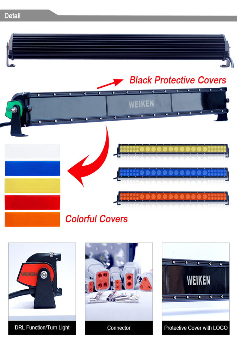 Factory Direct Sale C ree 3W Double Row 43inch 270W Led Light Bars for Trucks