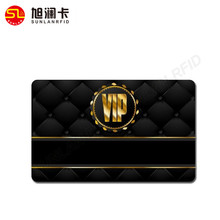 Custom design vip magnetic membership plastic card with full color printing