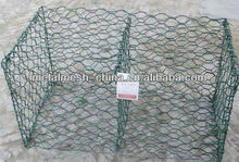 Alibaba china Gabions box Stone fence used in Road water barrier stone cages mesh exporter All over the world