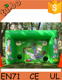 inflatable football goal/inflatable soccer goal game for kids