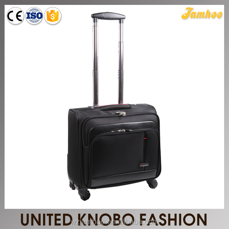 1680D rolling case carry-on luggage laptop bag with trolley