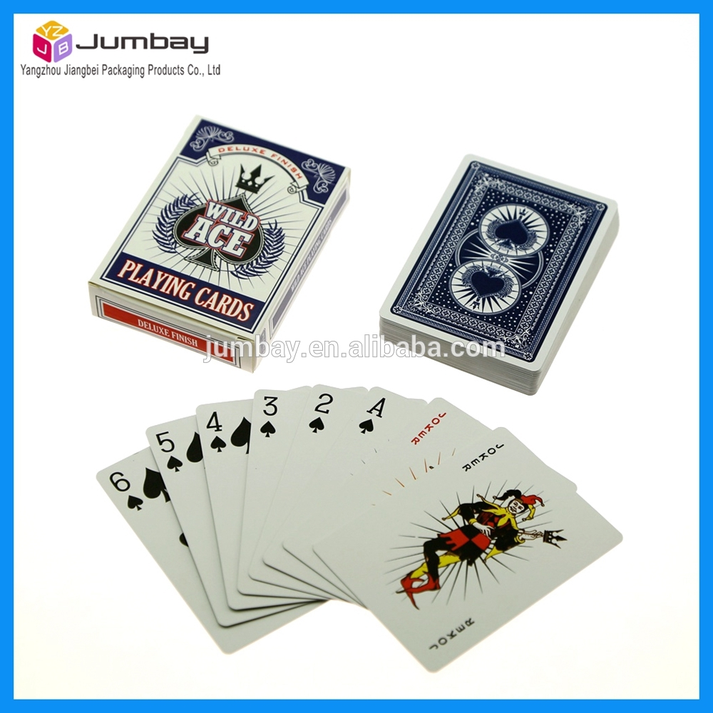anime poker playing cards with good service quality &amp