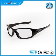 Hot sale 3D Glasses Circular Polarized Plastic Passive 3D Glasses For Barco Cinema System