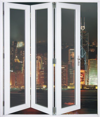 Hot Sale Type White Balcony Pvc Plastic Exterior Pvc Bifold Door   Buy  Bifold Door,Pvc Bifold Door,Balcony Pvc Plastic Door Product On Alibaba.com