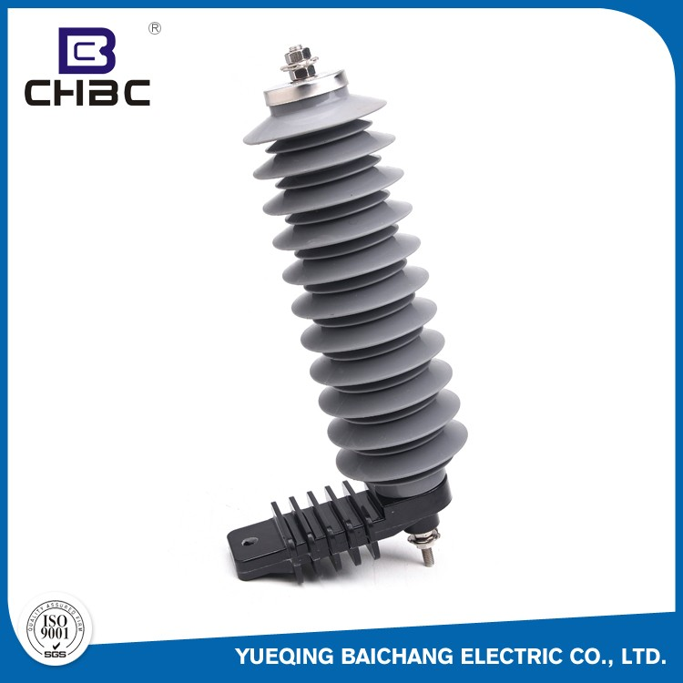 CHBC Factory Made Cheap Building Polymer 10KA 33KV Lightning Arrester