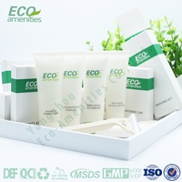Biodegradable high quality disposable hotel amenities wholesale