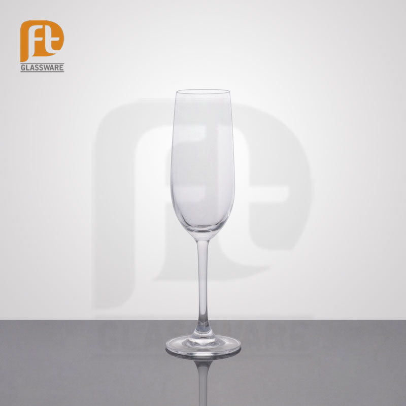 New arrive cheap personalized wine glasses wholesale champagne flute goblet glasses