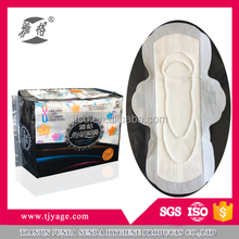Ultra thin superdry weave topsheet female sanitary napkin pads