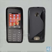 Liquidation sale S Line TPU Soft Back Case for Nokia 208