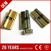 guangzhou cheapest solild brass computer key daf truck lock with key with NB finish color