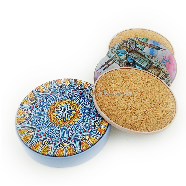 tea coaster metal coaster set