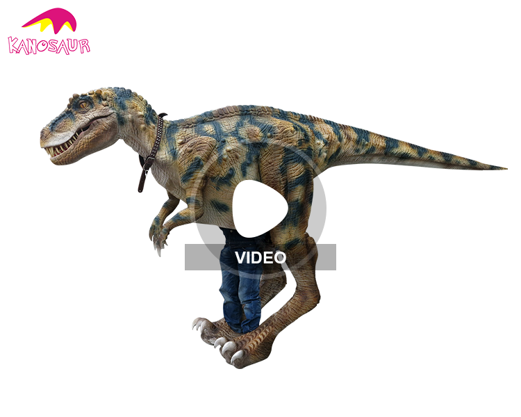 KANO-166 Show Event Equipment T-Rex Animatronic Dinosaur Suit