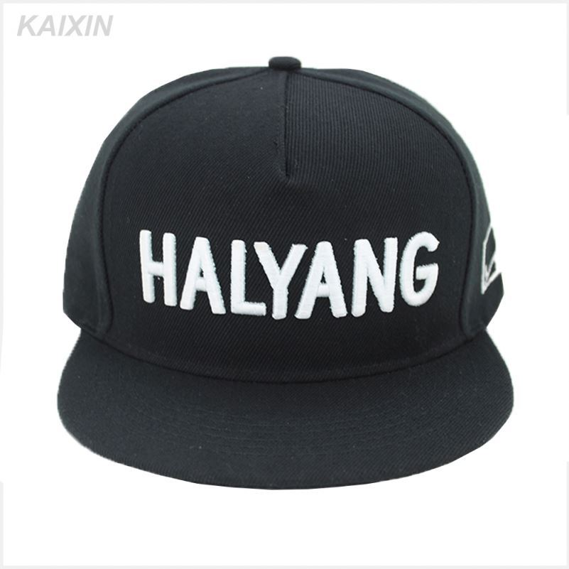 Guangzhou factory good quality cheap price 3D embroidery snapback caps