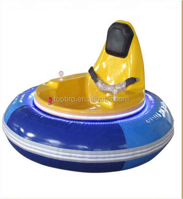 battery coin operated inflatable bumper car