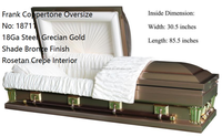 Frank Coppertone Oversize Coffin And Casket