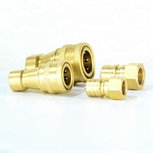 Kzd Brass Hydraulic Quick Coupler Quick Connect Coupling