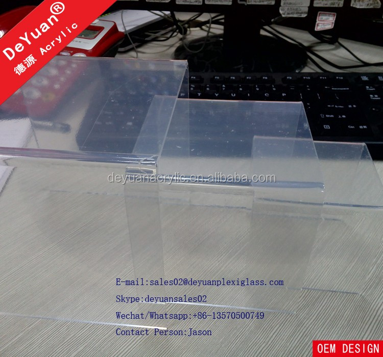 Acrylic Riser Shoe Display Stand Clear Wholesale