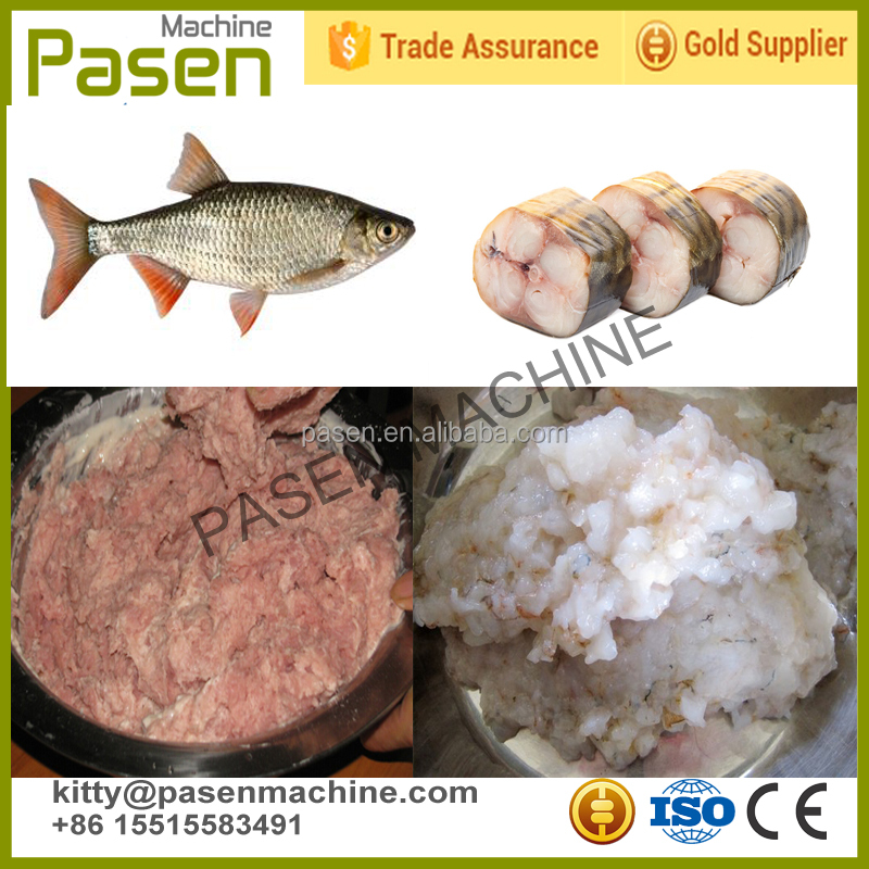 Factory price fish machine for deboning / fish processing machine / meat bone separator equipment