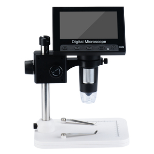 1000X Digital Microscope Electronic Video Micro scope 4.3 Inch HD LCD Microscope Camera Repair Magnifier with Adjustable Stand
