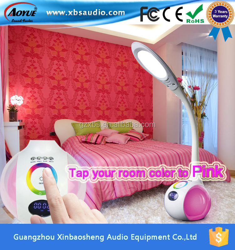 Newest desingn usa table lamp manufacturers, a table lamp bluetooth lamp table with speaker