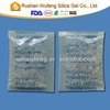 Clear Plastic Bag Packed Silica Gel