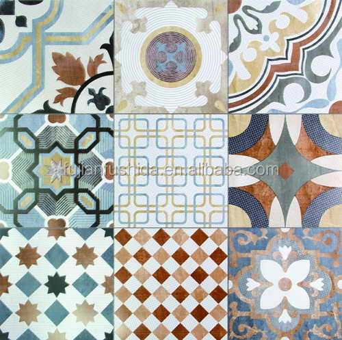 600x600mm various colors/designs classical living room/kitchen wall/floor cement tiles