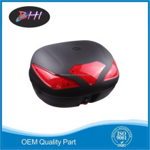 motorcycle rear luggage box tail box plastic tail box high quality for scooter