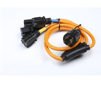Generator Extension cord with four socket