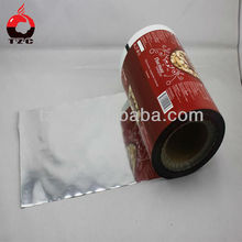 custom printing film food roll off film