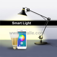 China 16000000 Colors No Hub and Controler Required Dimmable Smart Bluetooth RGB Led Lighting Bulb