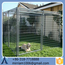Factory Heavy duty galvanized welded wire outdoor large dog kennel wholesale