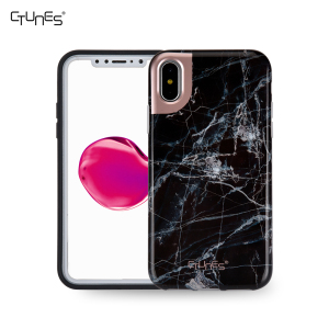 TPU Soft Case for iphone X, Marble Pattern IMD Design Anti-Scratch Shockproof Slim Fit TPU Case Cover for iphone X