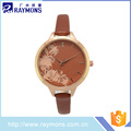 2017 New women's water resistant ladies fashion watch with certificate