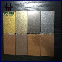 Vibration Finished Stainless Steel Decorative Color Sheets/Panels