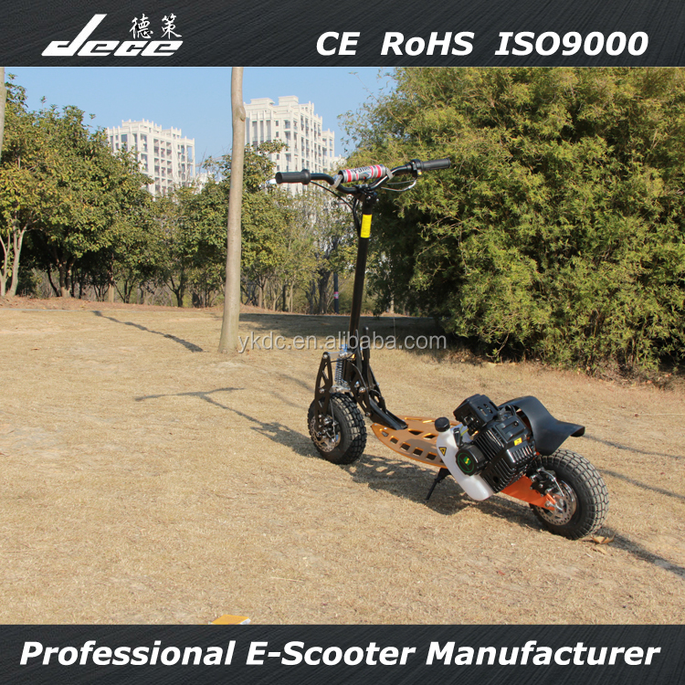 2015 new arrival CE ROHS best cheap two wheels scooter gasoline