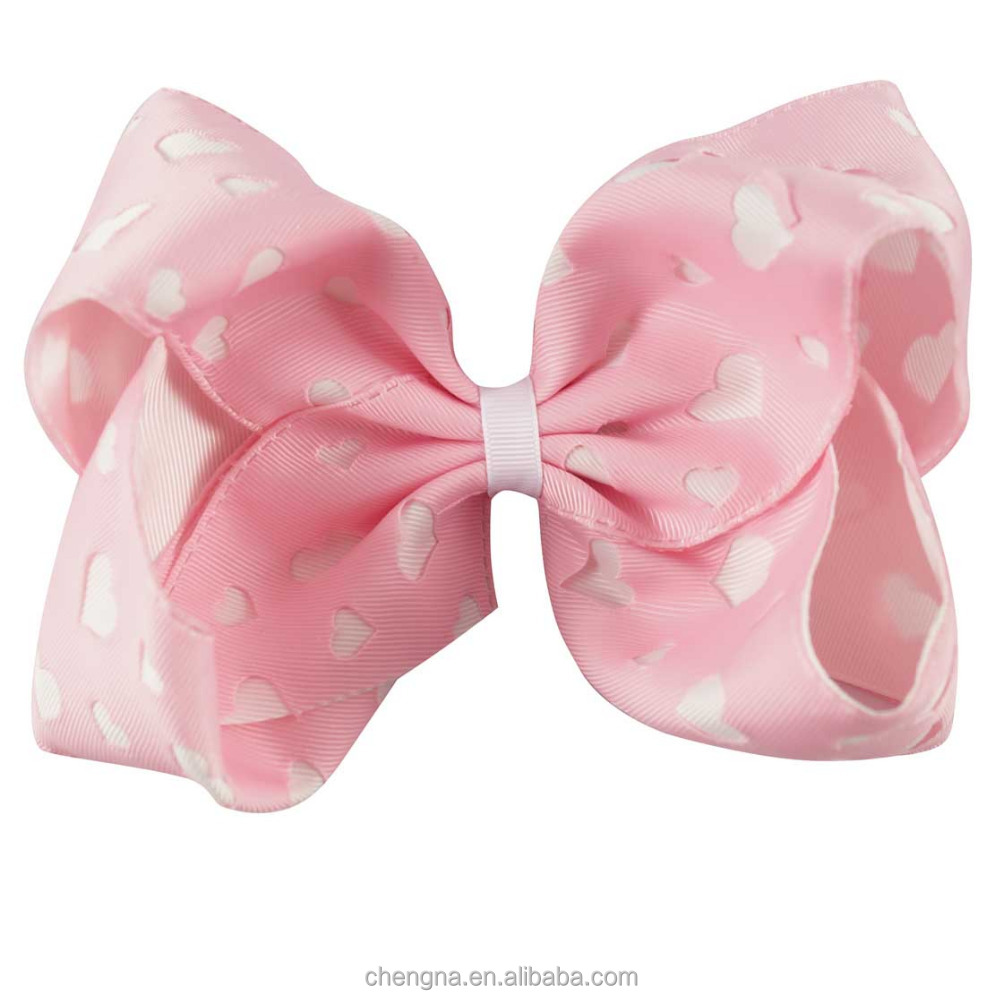 Beautiful Handmade Large Girls Hair Bows with Alligator Clip BH1061Q